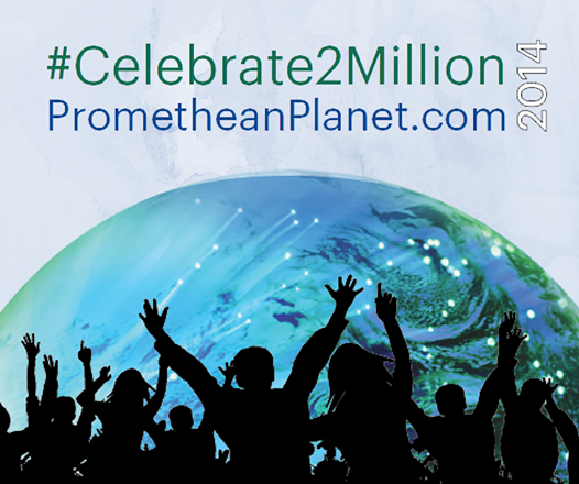 Celebrate 2 Million Promethean Planet