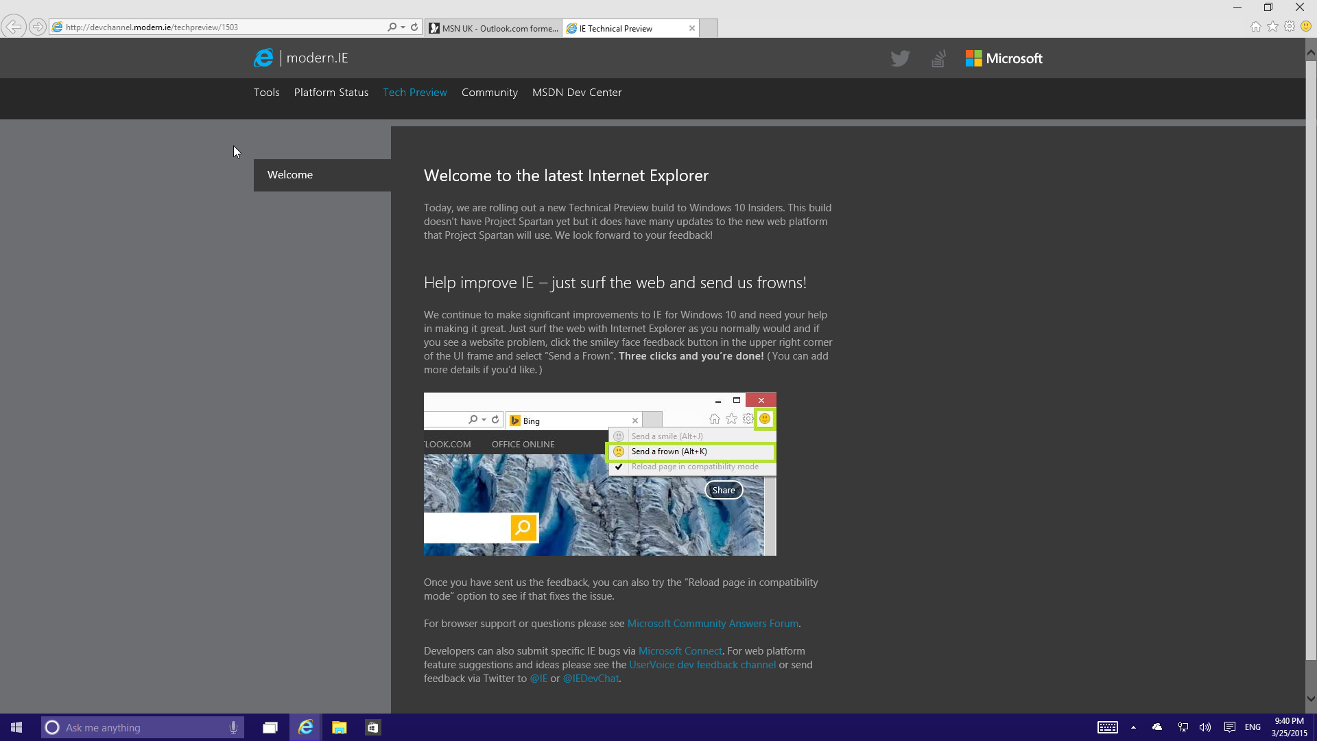 Windows 10 Technical Preview x64 Build 10041-2015-03-25-21-40-48